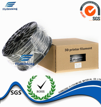 Heating Color 3D Printer Filament Cheapest , Best PLA Filament High Strength Snd Rigidity