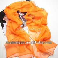 women fashion long georgette silk chiffon islamic scarf