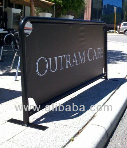 Two meter Wide Cafe Barrier (Made in Australia)