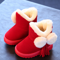 2016 Fashion Korean Kids Winter Boots