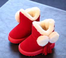 2016 fashion Korean kids winter boots kids snow boots wholesale cildren boots
