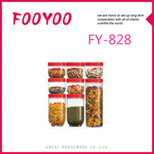 FOOYOO FY-828 ADJUSTABLE CHEAP PLASTIC STORAGE BOXES CONTAINER FOR DRIED FOOD