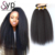 Kinky Straight Brazilian Hair 3 Bundles With 4x4 Lace Closure Extensions Online