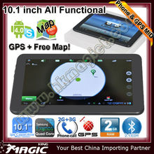 New coming! 10.1 inch gps quad core tablet