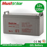 Competitive Price 12V 120Ah Solar Gel Battery for Storing Solar Energy