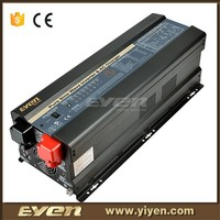 1phase home use pure sine wave power inverter 12V to 220V with battery charger and solar charger controller 5000W