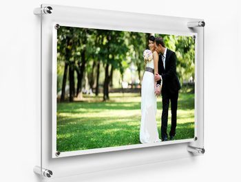 Acrylic hanging photo frame, wall mounted acrylic photo frames, wall hanging photo frames