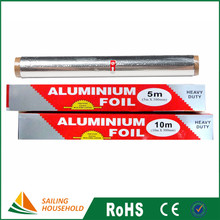 Household tin foil paper roll price food wrap aluminium foil