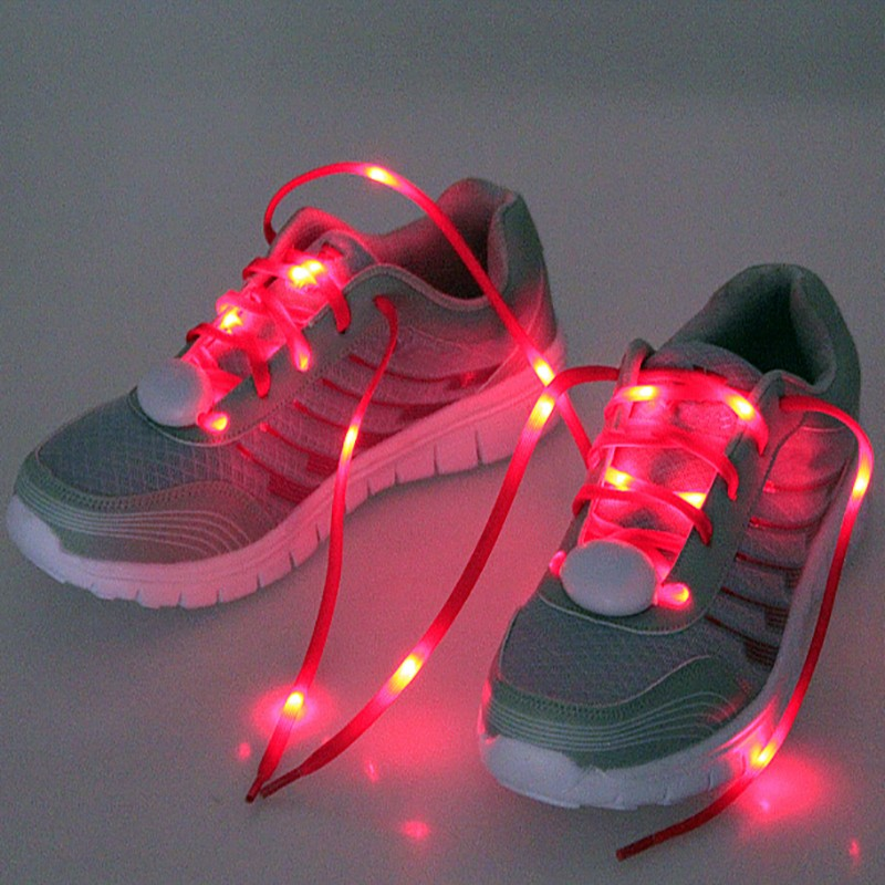 2016 China high quality party nylon led shoelaces