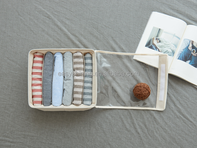 High Quality linen socks container ESS0130