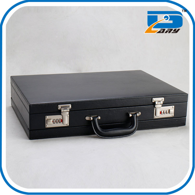 Factory direct sales fashionable wholesale silver aluminum briefcase tool box