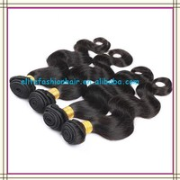 Factory wholesale body wave raw unprocessed virgin indian hair