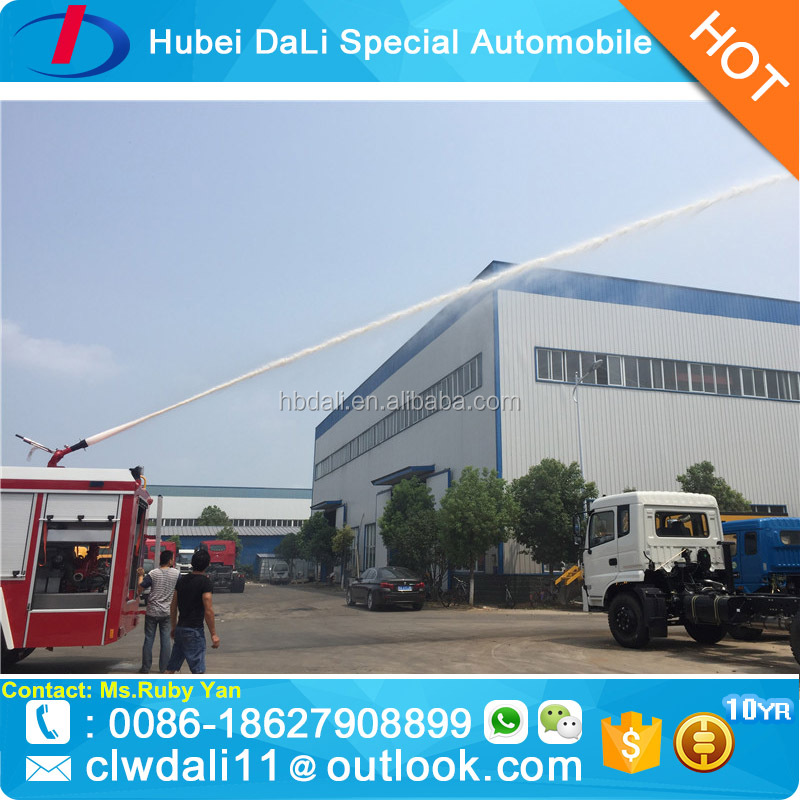 Dongfeng 4*4 AWD Fire Truck Fire Accident Rescue Truck