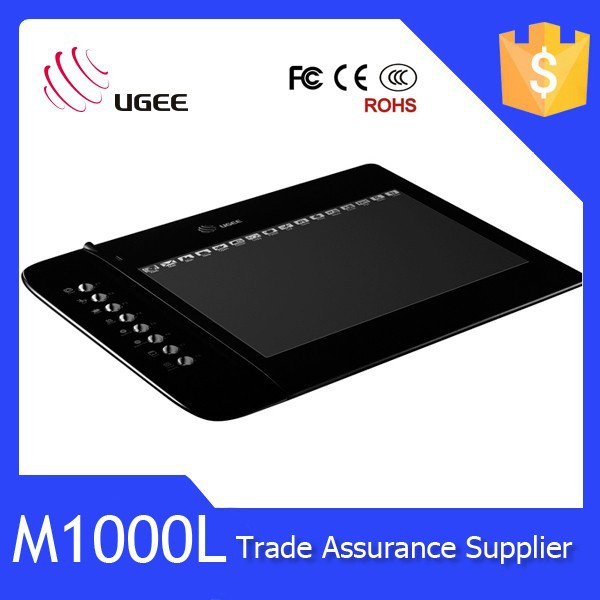 Ugee-M1000L With Rechargable Digital Pen 8x5 inch Active Area malata tablet pc