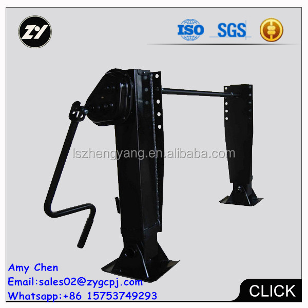 Trailer sale for Mauritius trailer manufacture landing gear outside box landing gear