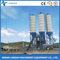 Electric power type and new condition cement mixing plant on sale