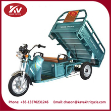 60V 900W motor power electric pedicab electric tricycle for cargo