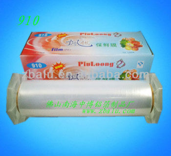 Newest!! food packaging cling film 910