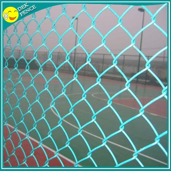 2Inch White Plastic stainless steel Chain Link Fence panels