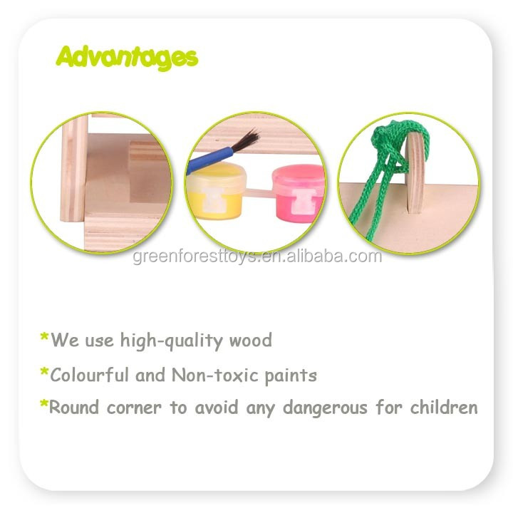 Supplier Of Wood Toys In China Wooden Model Kit Bird Feeder