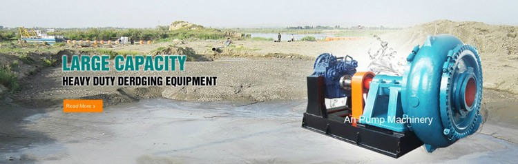 Electrical gravel pump for river dredge