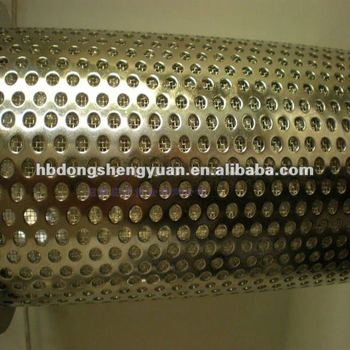 mm hole galvanized perforated metal mesh/square hole perforated metal/round hole perforated metal screen