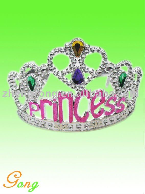 Princess Tiara Crown For Bridal Wedding Prom Pageant
