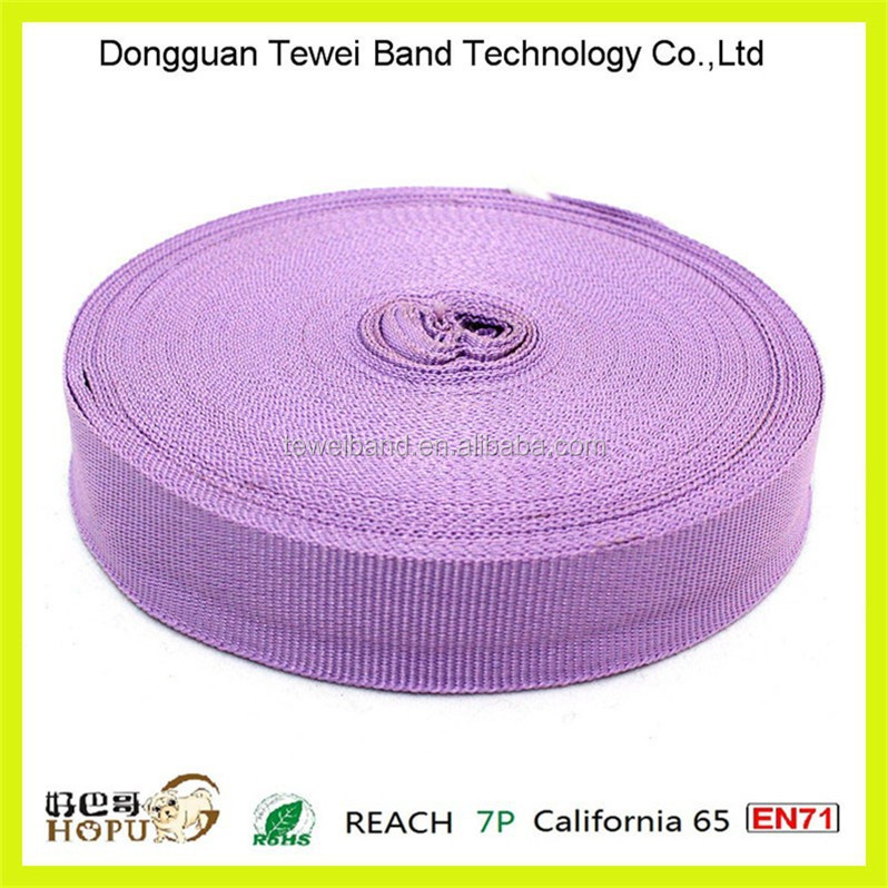 Multi colored polyester webbing for paper bag making machine,knitted webbing,waist band