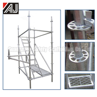 High Stability Ringlock Scaffolding Parts For Construction Of Building, Bridge, Vessel