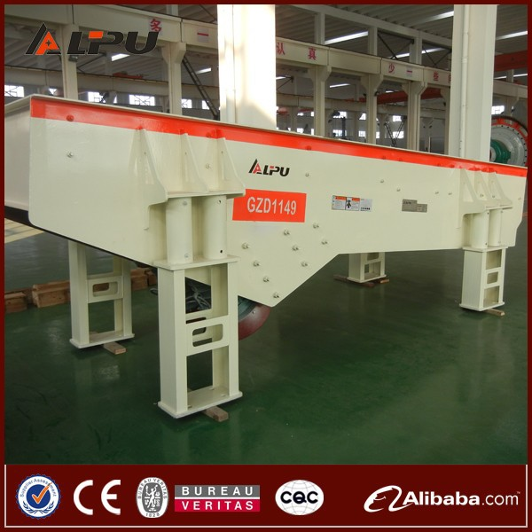 Heavy Duty GZD Series Mining Vibrating Feeder For Sales