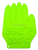 hand shape Silicone Mat/ heat resistant decorative silicone hot holder