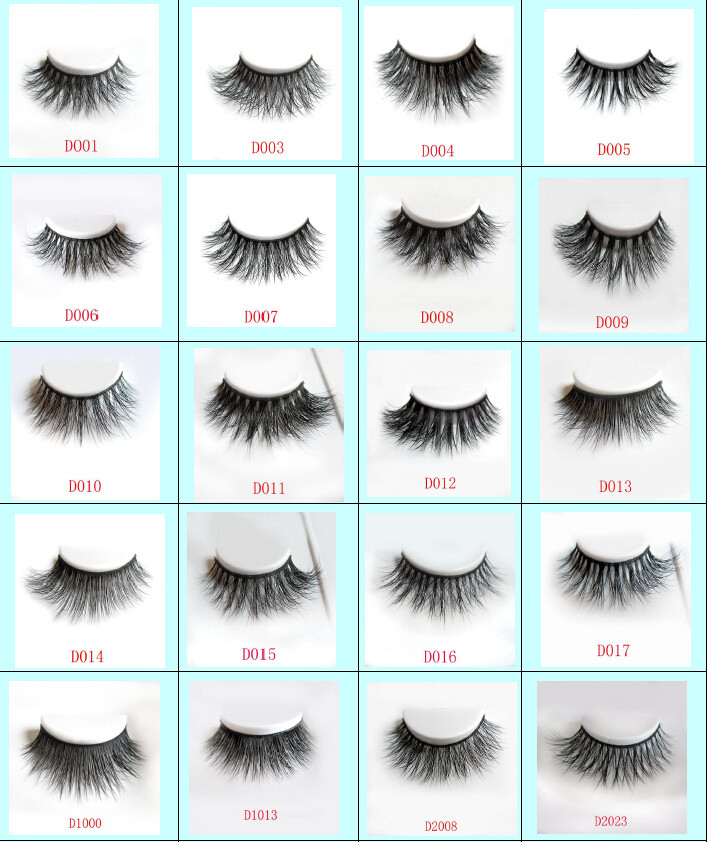 clear band see through 3d mink lashes TD01