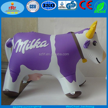 Promotion milka inflatable cow, Inflatable milk Cow