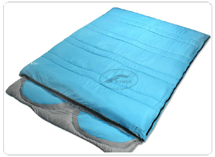 Double Person Luxury Envelope Travel Sleeping Bag