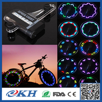 2017 fashion led bicycle wheel light ,changing led decorative bike wheel spoke light ,led bicycle wheel light
