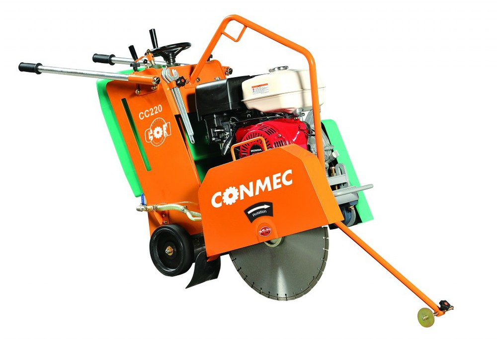 Honda GX390 9.6kw/13hp Concrete Cutter CC220(CE),Gasoline Concrete Cutting Machine,Concrete Saw