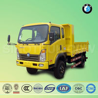 sinotruk low price 6 wheel second hand tipper trucks