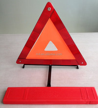 High quality safety roadway reflector warning triangle