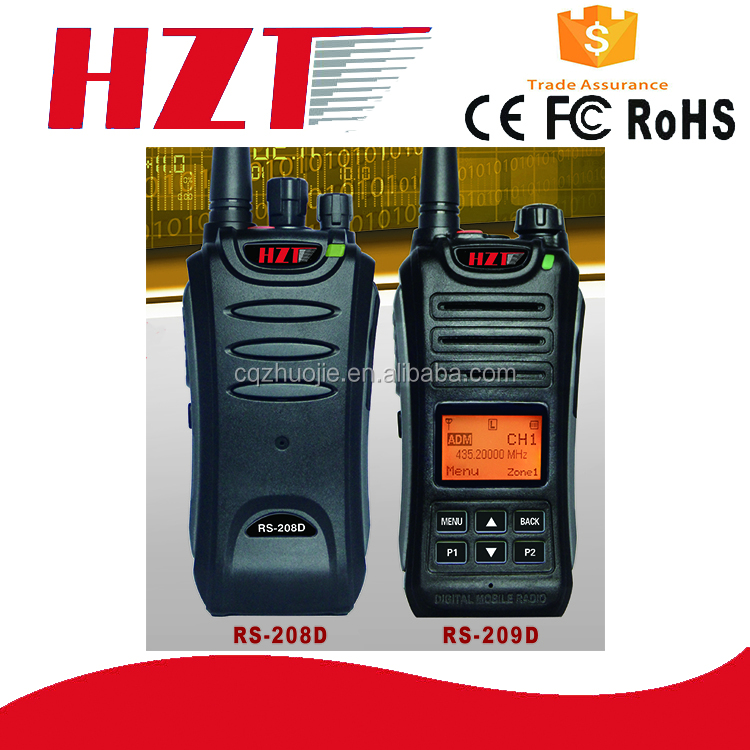 Call Digital Encryption Multi-call Digital/Analog Models Dual band RS208D/209D Professional radio