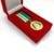 High quality luxury 3D Catholic religion Church souvenir medal with velvet box