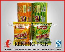 Flexible Plastic Food Packaging and Wrap Material