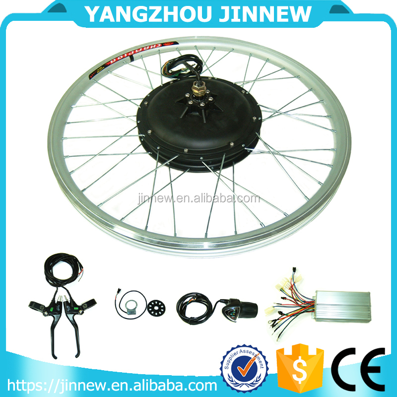 cheap 26 inch hot sale easy assemble 48V 1000W brushless e bike electric bicycle conversion kit