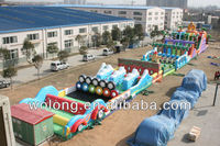 adult inflatable obstacle course for sale, giant inflatable obstacle course