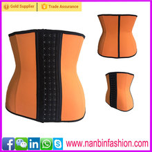 Hot selling latest <strong>design</strong> 2 layers 9 steel bones slimming corset