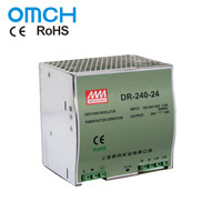 OMCH DR - 240 220v 120W 45W 24v 48v Dc Industrial Single Output Din Rail Switching Mode Power Supply Adapter