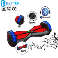 8 inch black color balance 2 wheel electric scooter ce for adult kids and ladies
