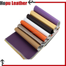 1.0mm black Non-woven fabric polyester faux leather rexine price for men office shoes