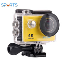 Sibotesi 4k 25fps go pro WIFI sports eken camera 30m underwater action camera eken H9R H9