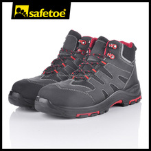 New design leather steel toe safety shoes with steel toe M-8350