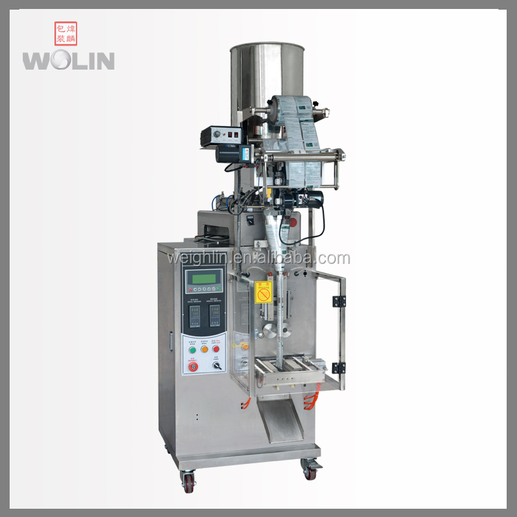 3 or 4 side form fill seal packing machine